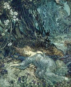 A Midsummer Night's Dream, by Arthur Rackham