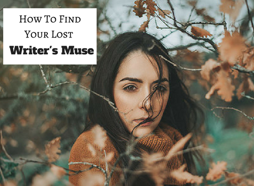 How To Find Your Lost Writer's Muse #SundayBlogShare #ASMSG #Writer